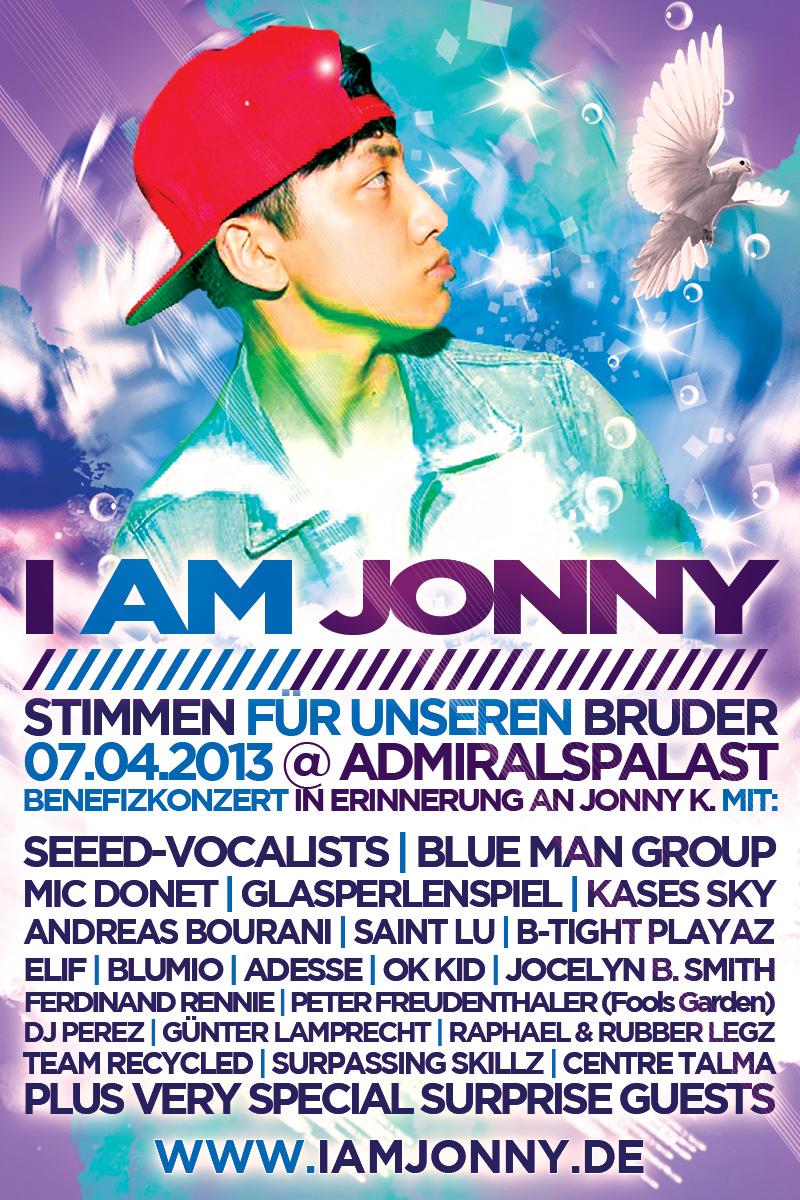 I Am Jonny - Stimmen Für Unseren Bruder Benefizkonzert 7.4.2013